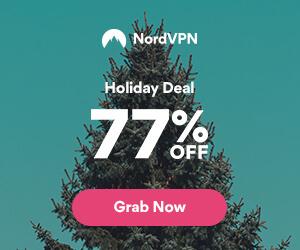 Nord VPN deal 77% korting